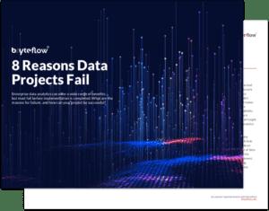 8 Reasons Data Project Fail Ebook