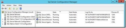 Description: How to Enable SQL Server Agent Service-Running