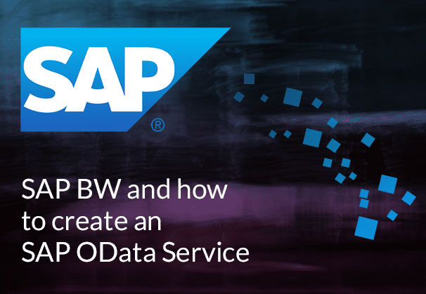 SAP BW and creating an SAP OData Service